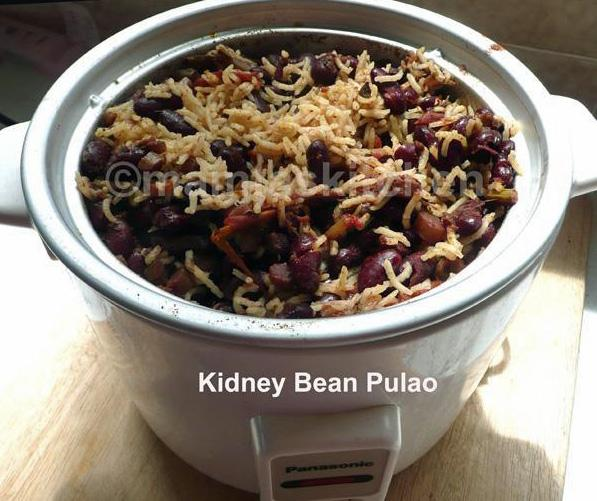 Kidney Bean Curry Traditional Method