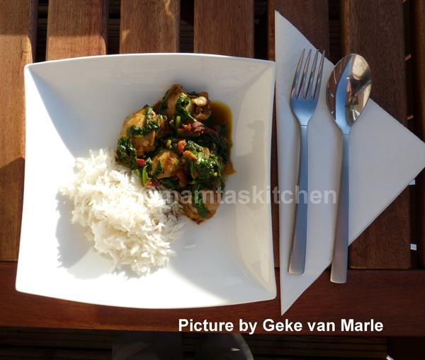 Chicken and Spinach Curry 2