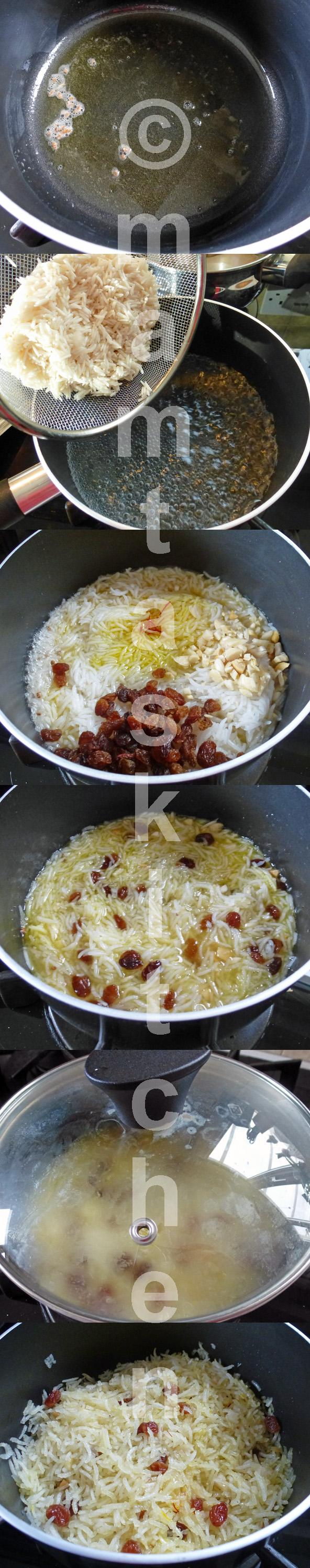Sweet Rice 1, Traditional-Cooked in Syrup