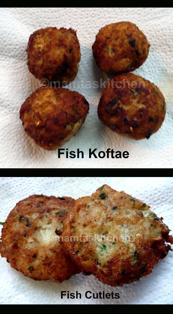 Mackerel Koftae or Cutlets