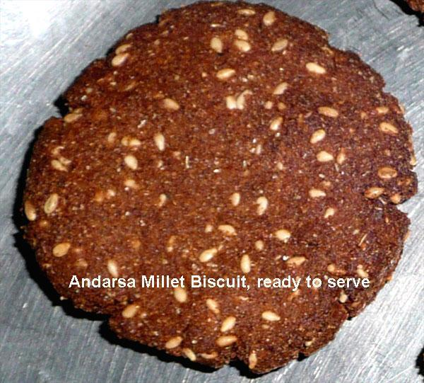 Andarsa Millet Biscuits-Sweet