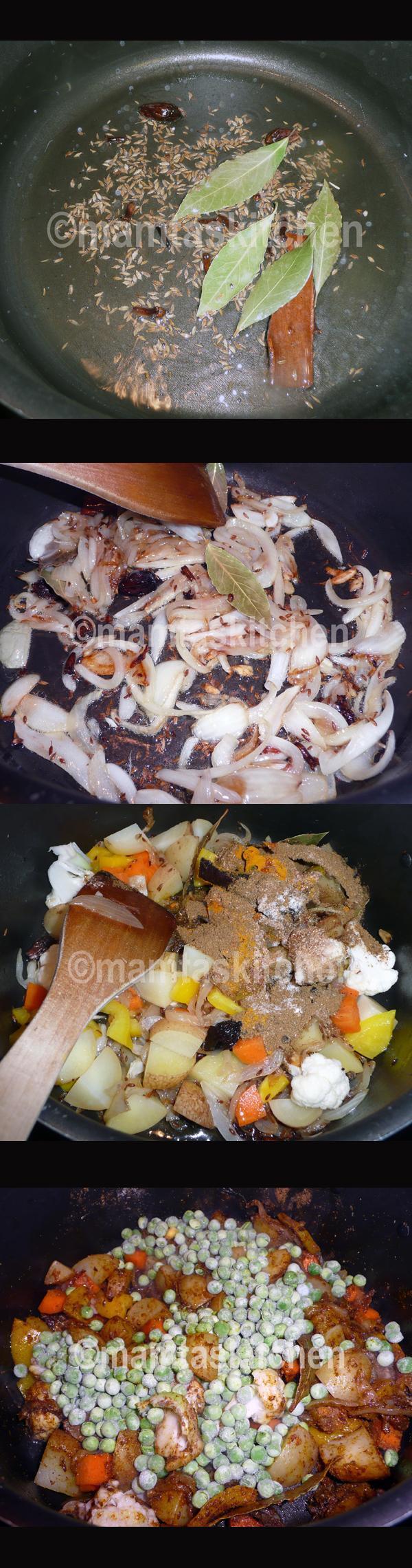 Vegetable Biryani Rice1, With Paneer Cheese