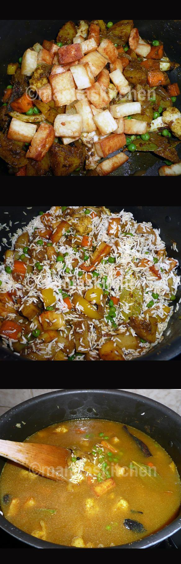 Vegetable Biryani Rice1, With Paneer Cheese