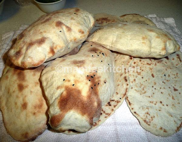 Naan 1 Plain Leavened Flat Bread