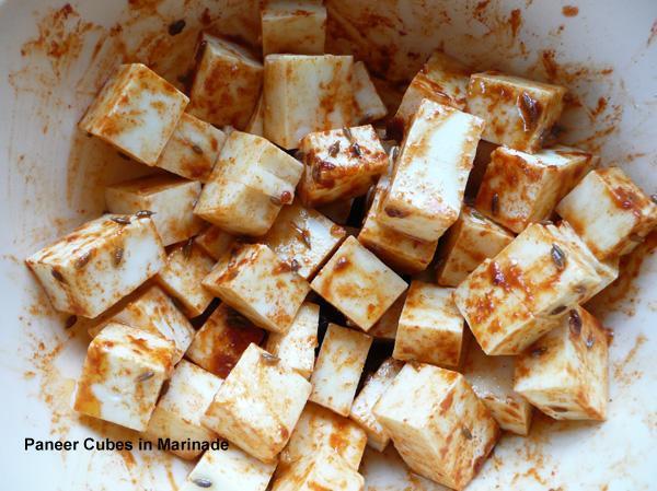 Tandoori Paneer Cheese - 1