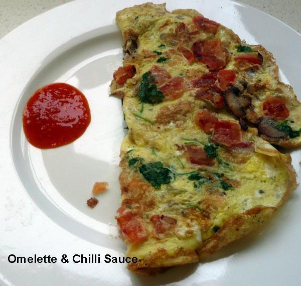 Omelette, Indian