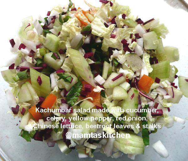Kachumbar Parsee Salad