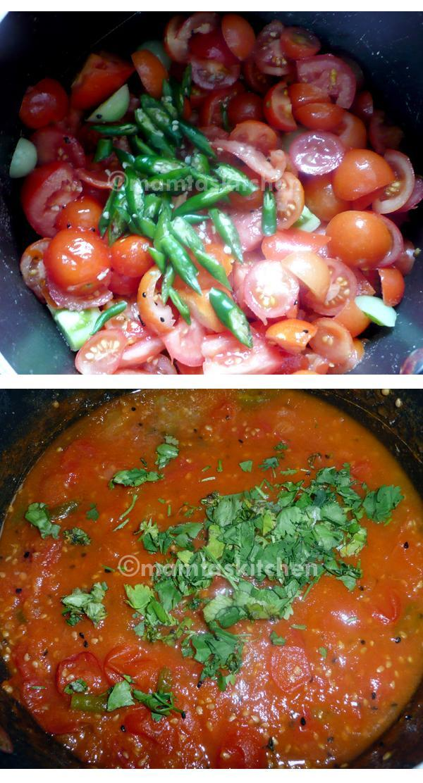 Tomato Chutney or Sauce, Fresh - 2