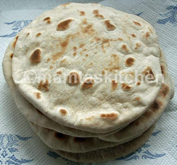 Tandoori Roti - 1, Indian Bread Made in An Oven or Tandoor
