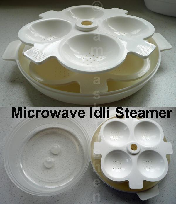 Idli - Rice and Lentil Steamed Dumpling