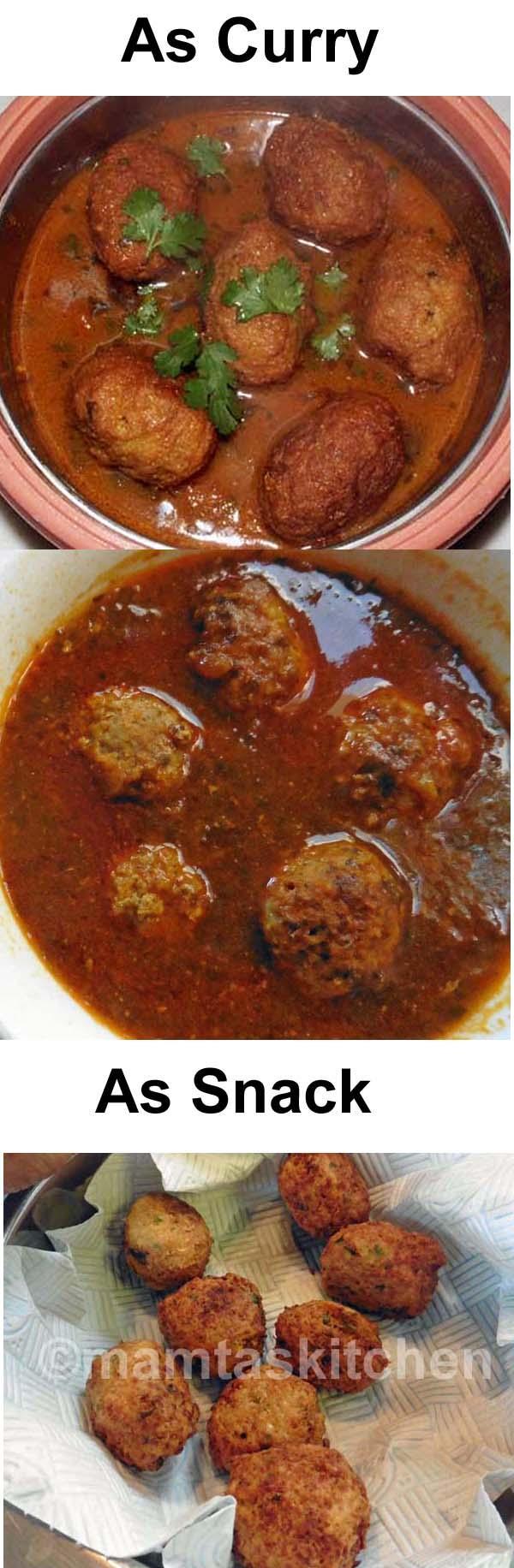 Vegetable Kofta Curry
