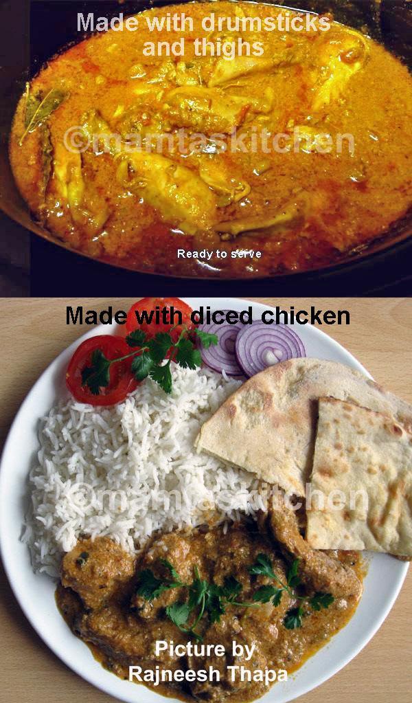 Butter Chicken Curry 1