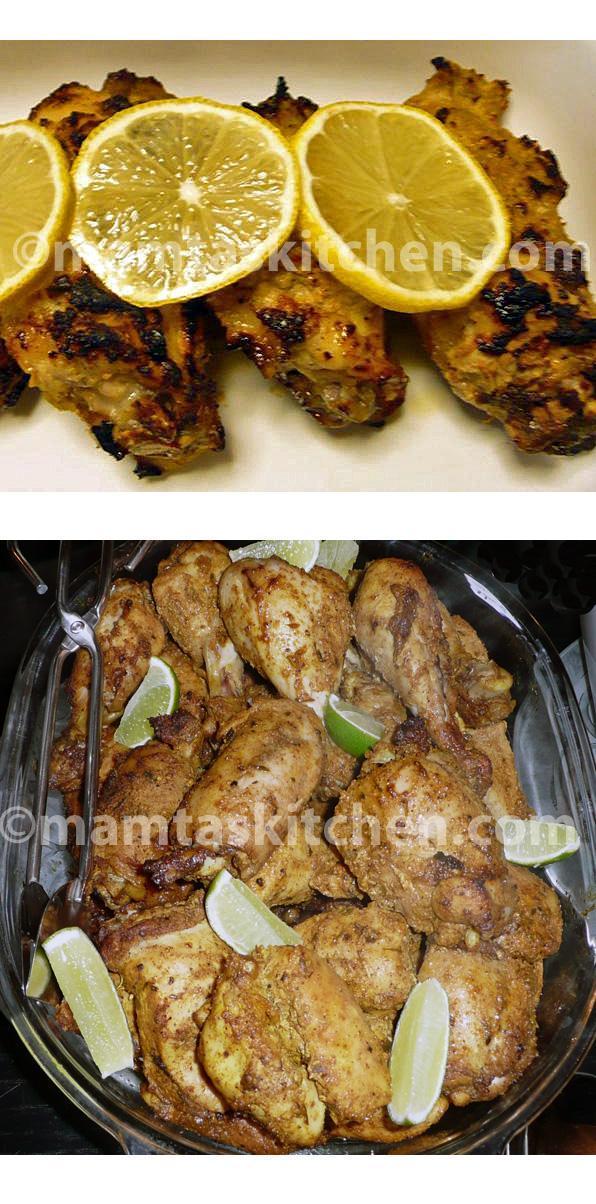 Tandoori Chicken - 3, Parsee Style