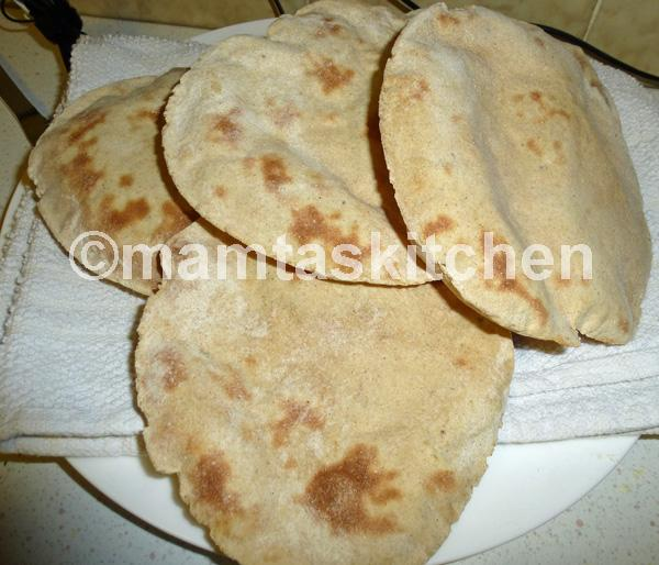 Tandoori Roti - 2, Indian Bread Made Under a Grill