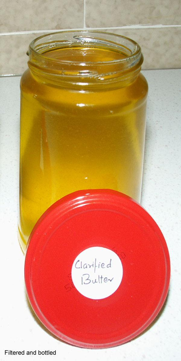 Ghee - Clarified Butter, How to make it from Butter