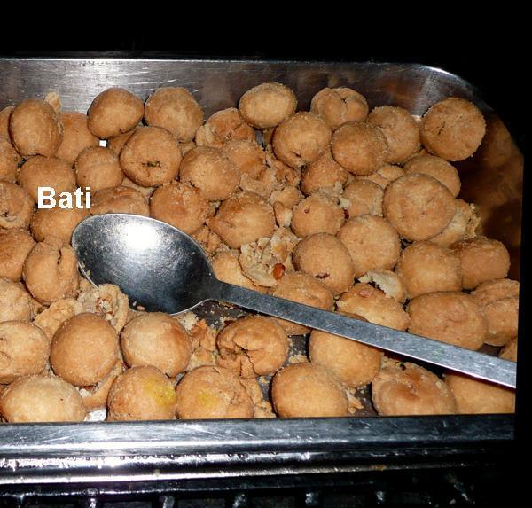 Dal-Bati, Flour Dumplings and Lentil from Rajasthan