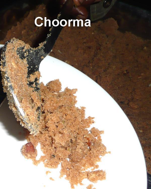 Choorma Crumble