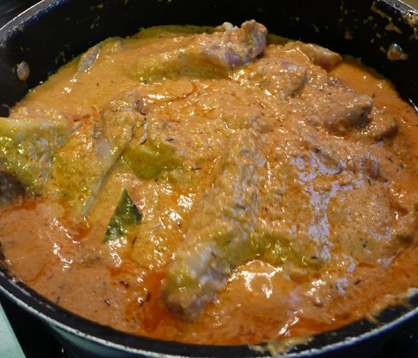 Mamtas Kitchen Chicken Curry From Afghanistan