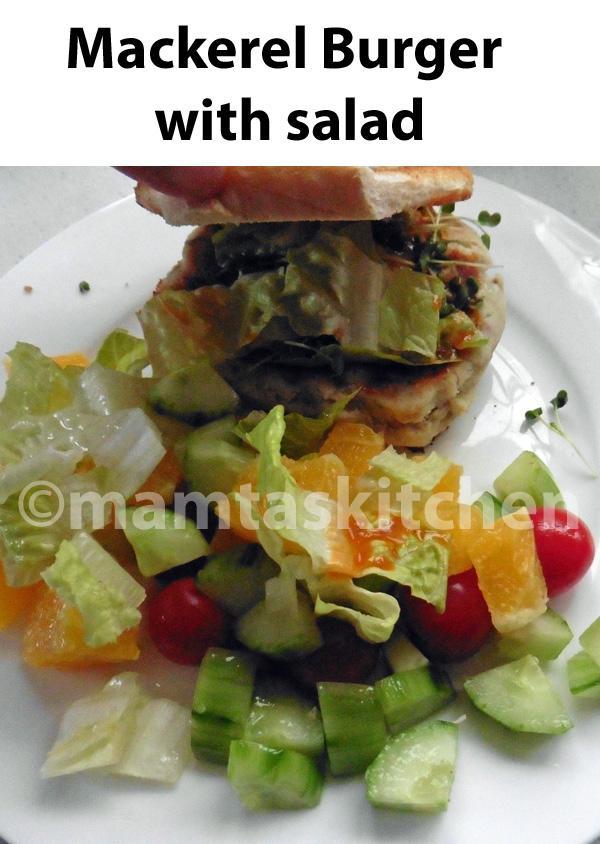 Mackerel Kebabs or Fishcakes 1, Mamta's