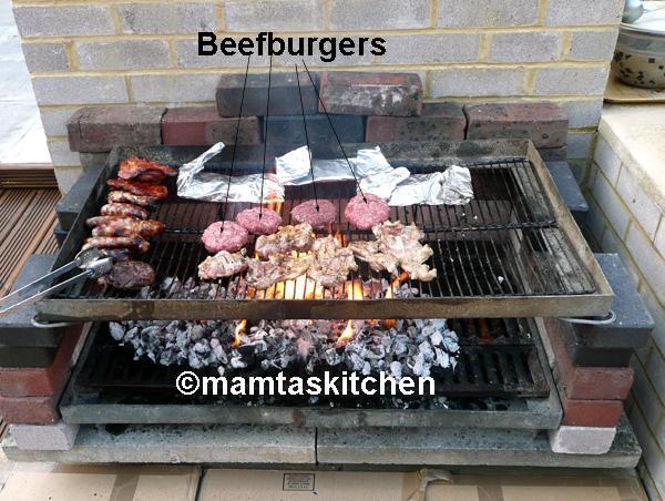 Beef, Lamb, Chicken or Fish Burgers