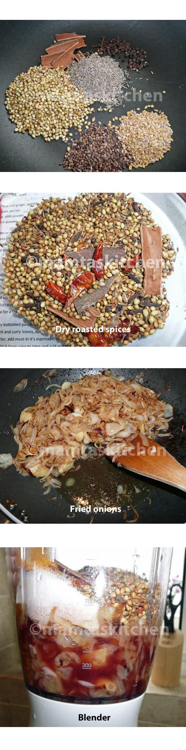 Vindaloo Pork or Beef or Lamb Curry 1, Traditional Method