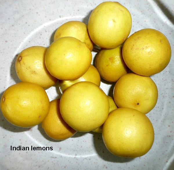Lemon Pickle - 5, Traditional North Indian With Carom Seeds