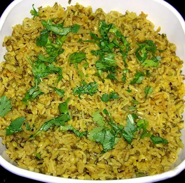 Khitcheri Mung Dal (Green Gram)-North Indian