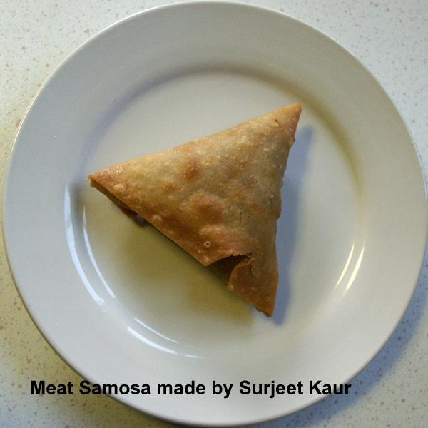 Meat or Chicken Samosa