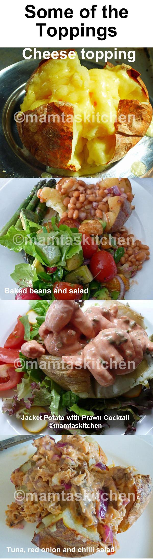 Jacket Potatoes-A Collection of Jacket or Baked Potatoes & Topping Ideas