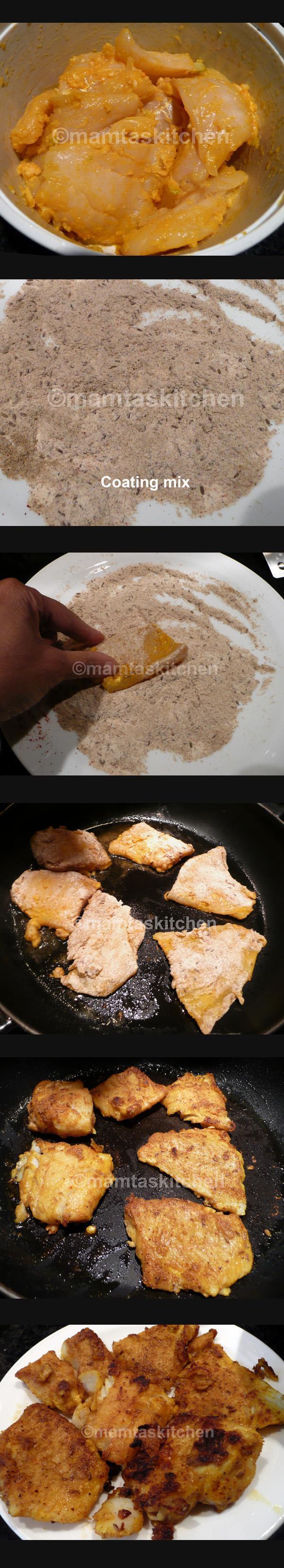 Spicy Pan Fried Fish (Vimal\'s)