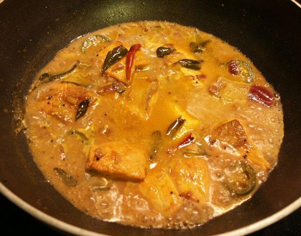 Fish Curry with English Mustard (Bihari)
