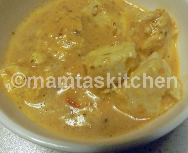 Shahi Paneer, Indian Cheese Curry - 2, Mamta's