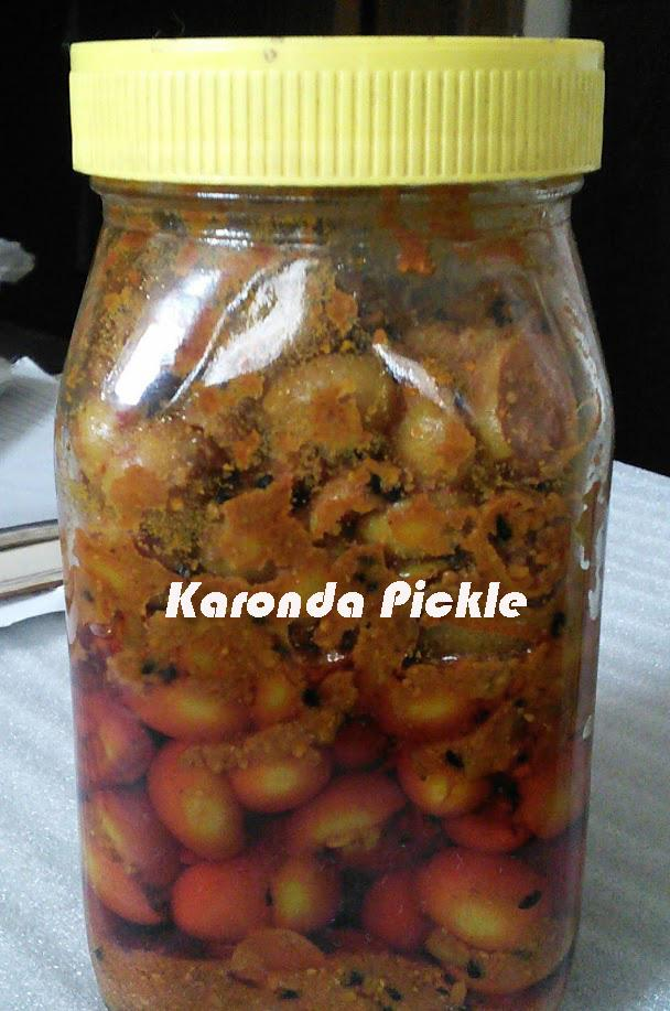 Karonda (Natal Plum or Corinda) Pickle