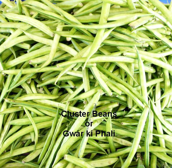 Cluster Beans and Potato Bhaji/Sabji