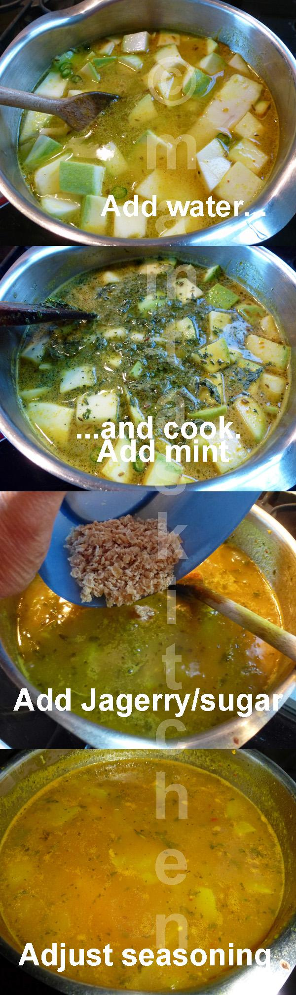 Mango Amras or Panna, A Sweet & Sour Side Dish or Soup