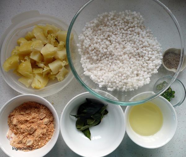 Tapioca or Sago Khitcheri  1