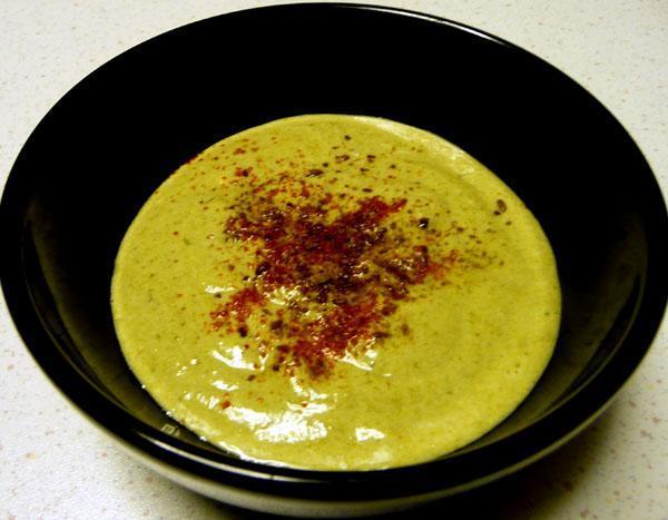 Spinach Raita (Yoghurt)
