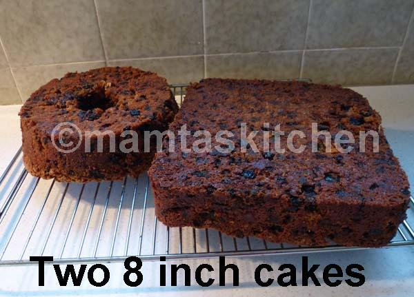 Fruit Cake - Christmas Cake 1
