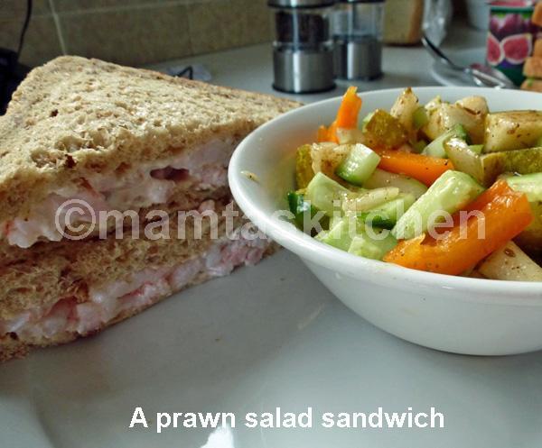 Prawn Cocktail or Salad