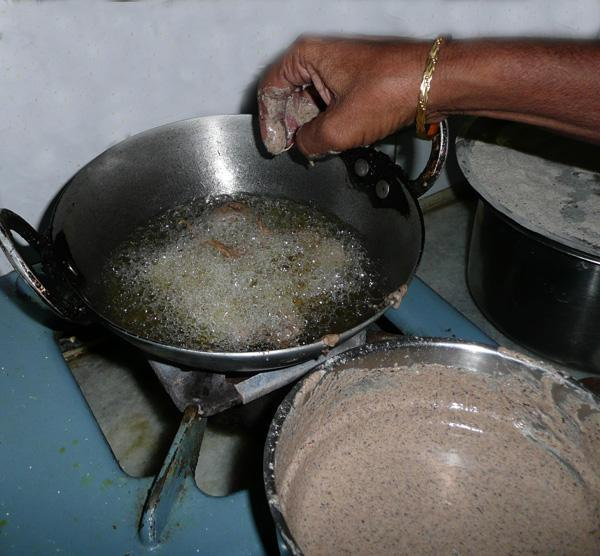 Buckwheat Pakora in Yoghurt Sauce