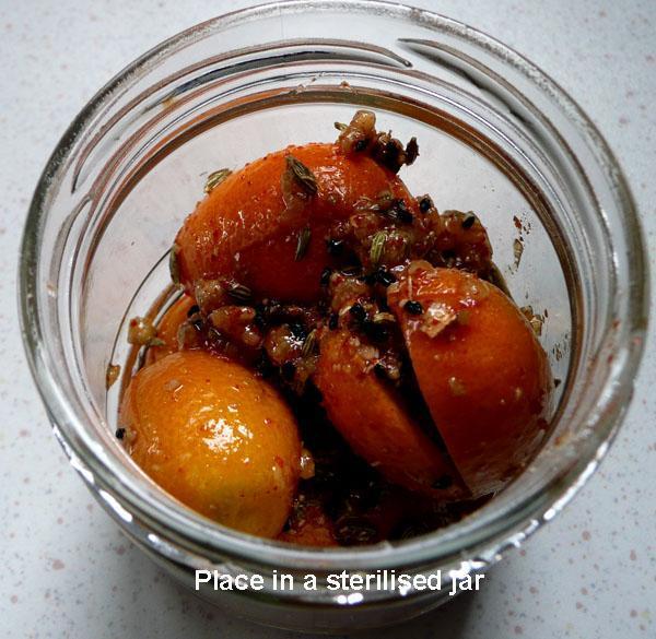 Kumquat (Orange), Sweet Pickle