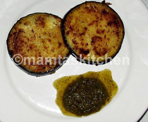 Aubergine Slices Fried or Grilled 2