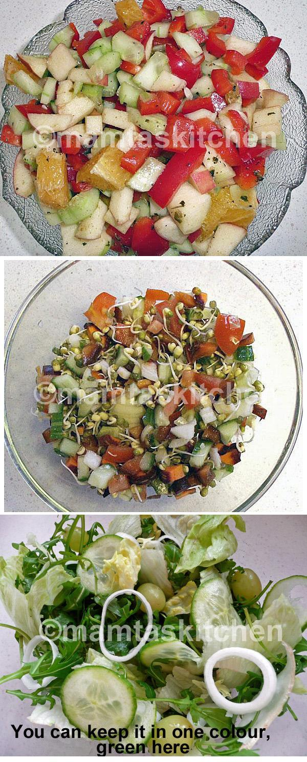 Mixed Salads Collection of Recipes
