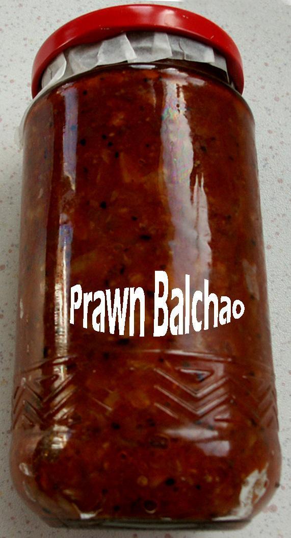 Prawn Balchao Pickle