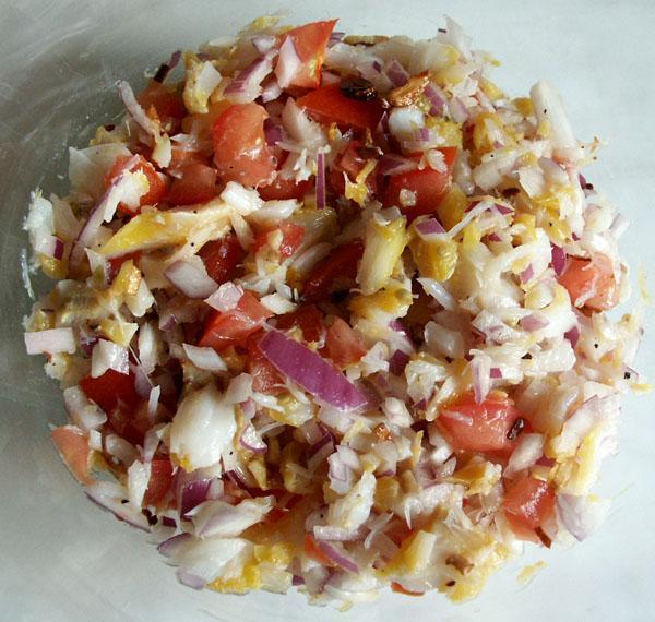 Smoked Haddock Salad