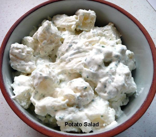 Potato Salad in Mayonnaise