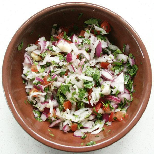 Mixed Salad 5, North Indian Style, With Lime or Lemon Dressing