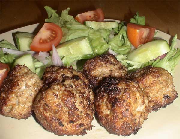 Greek Meatballs or Koftae