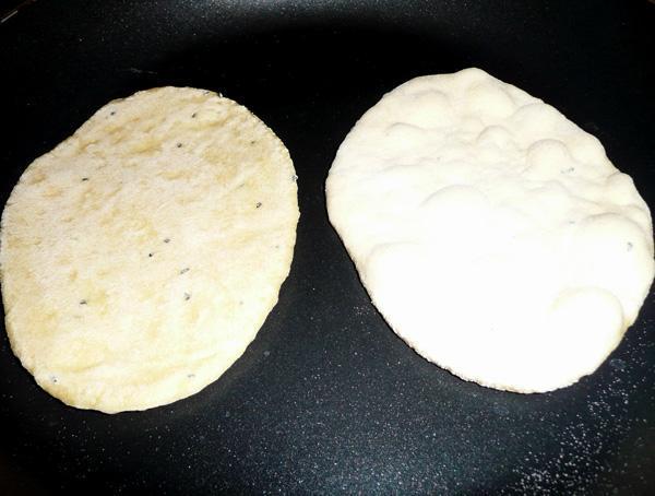 Naan 3 Cornmeal Leavened Flat Bread