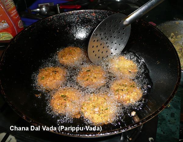 Vada, Chana or Tuvar Dal Patties from Tamilnadu